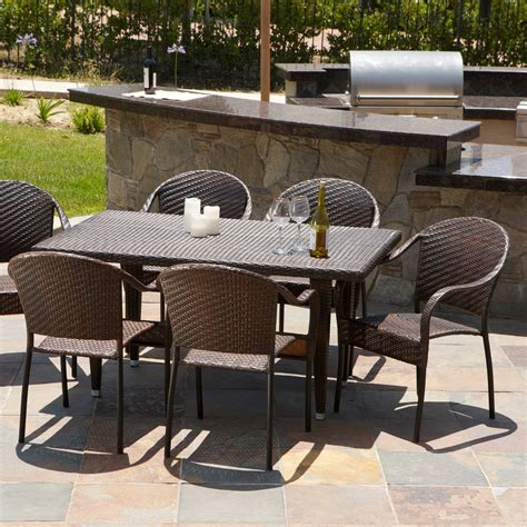 all weather wicker patio dining sets all weather wicker patio dining set patio dining