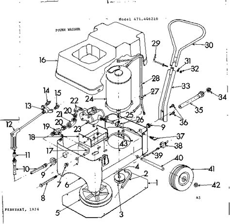hypro parts diagrams hypro power washer parts model c5320r sears