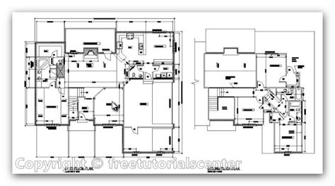 cad house plans house plan autocad file architectural house plan design
