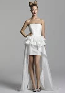 dresses for a wedding reception white wedding reception dresses onewed