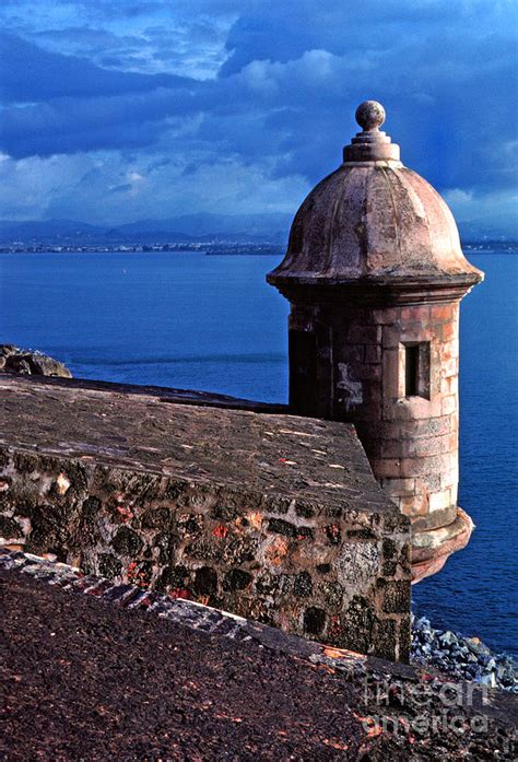 el morro san juan puerto rico sentry box el morro fortress photograph by thomas r fletcher