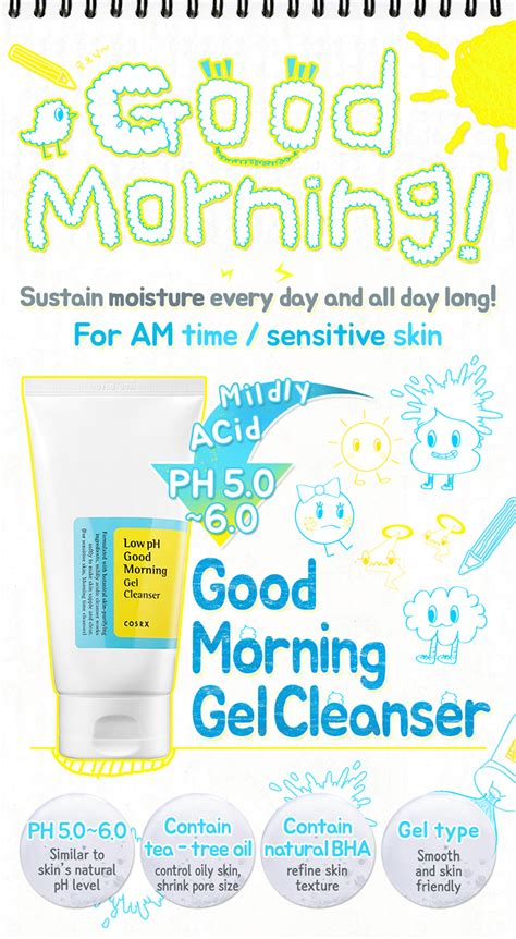 Cosrx Ph Low Morning Gel Cleanser 150ml cosrx low ph morning gel cleanser a addict in progress