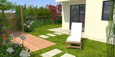 Appartement Rez De Jardin by Terrasse En Rez De Jardin Avec Une Pergola Mon Jardin En
