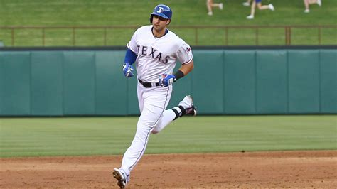 rangers rookie joey gallo crushes home run in second