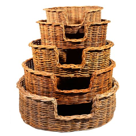 set of puppy set of 4 baskets roudham trading