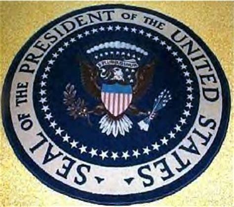 presidential seal rug ronald wade collection