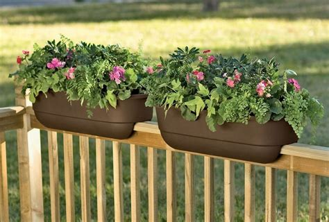 planter boxes for decks images