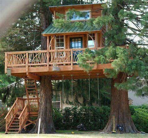 Treehouse Cottages Tree House Cottage Small Tree House Log Cabin Style Log Cabin