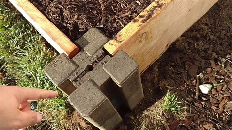 planter wall blocks how to raised bed garden easy way planter wall blocks