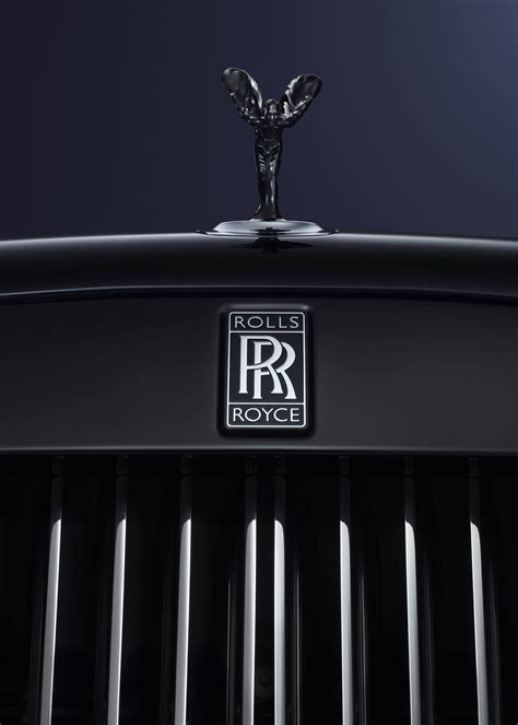 rolls royce badge rolls royce launches statement making black badge at geneva