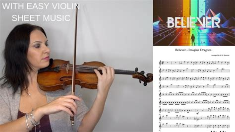 youtube tutorial violin believer by imagine dragons easy violin tutorial with