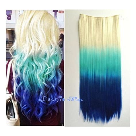 white and blue hair extensions best 20 grey hair extensions ideas on
