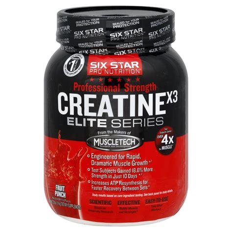 creatine x3 elite series review six pro nutrition elite series whey protein plus