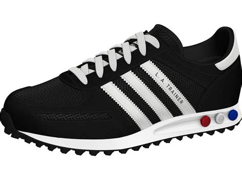 black and white patterned adidas trainers adidas la trainer black and white berwynmountainpress co uk