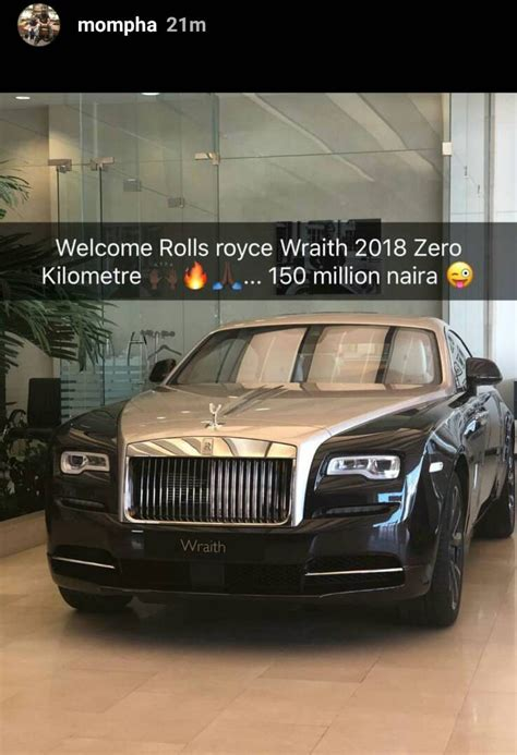 roll royce nigeria who is mompha the that bought n150m roll
