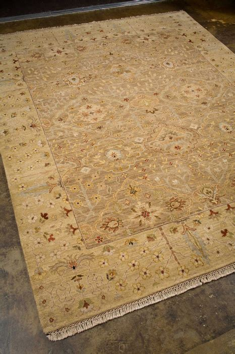alexanian area rugs opus op17 oatmeal soft gold knotted area rug