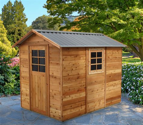 6x9 Shed Cedar Shed Oxford 6x9 S3021 1 929 00 Landera