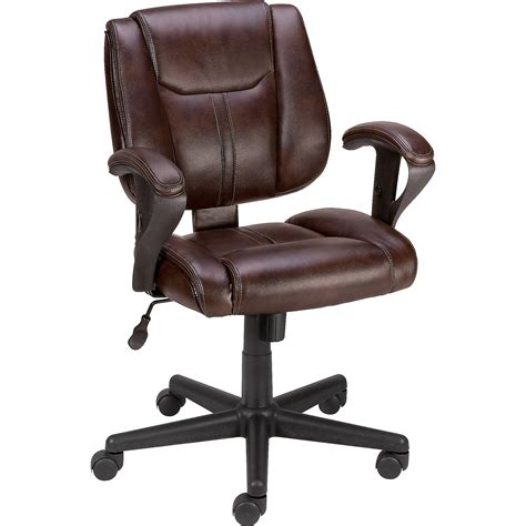 staples brown computer chair staples telford ii luxura managers chair brown ebay