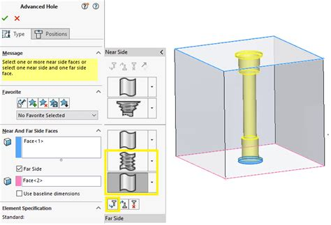 solidworks tutorial uk solidworks 2018 advanced hole callout tutorial