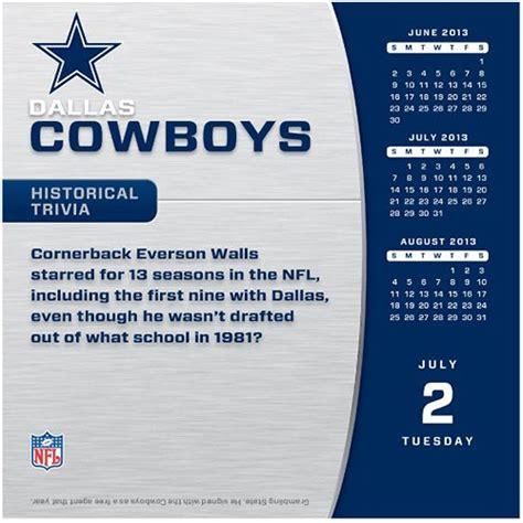 dallas cowboys desk calendar 2017 2013 cowboy calendar calendar template 2016