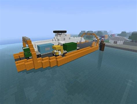 minecraft ferry boat simple minecraft ferry minecraft project