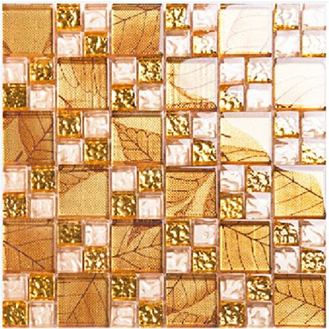 gold tile backsplash gold tile backsplash ideas bathroom glass mosaic