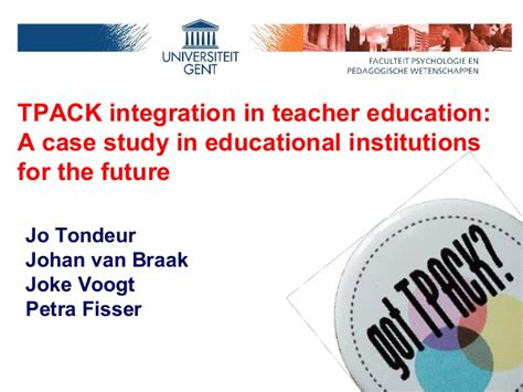 on the future of our educational institutions books tpack integration in education a study in