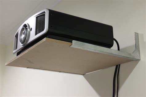 Projector Shelf by Solved With Pics Shelf And Bracket For Projector