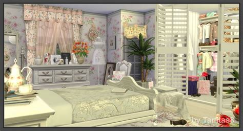 house of chic sims 4 cloud of roses shabby chic house