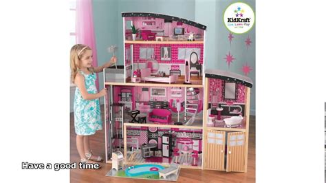 barbie doll house videos barbie doll house with elevator youtube