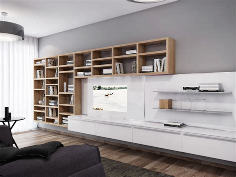 Apartment Sized Entertainment Unit White Entertainment Wall Unit Interior Design Ideas