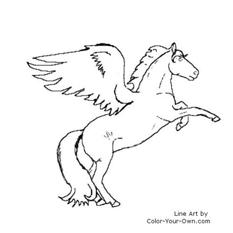 Free With Wings Coloring Pages