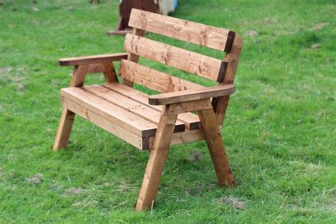 2 seater wooden garden bench solid 2 seater wooden garden bench traditional design
