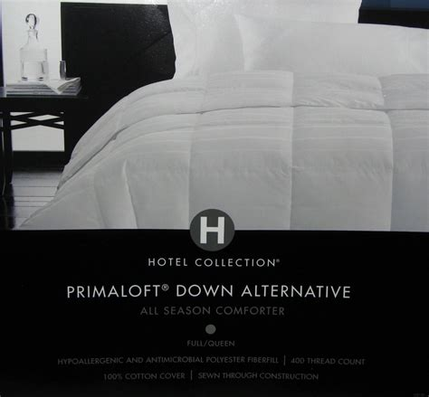 hotel collection primaloft down alternative comforter hotel collection primaloft down alternative comforter full