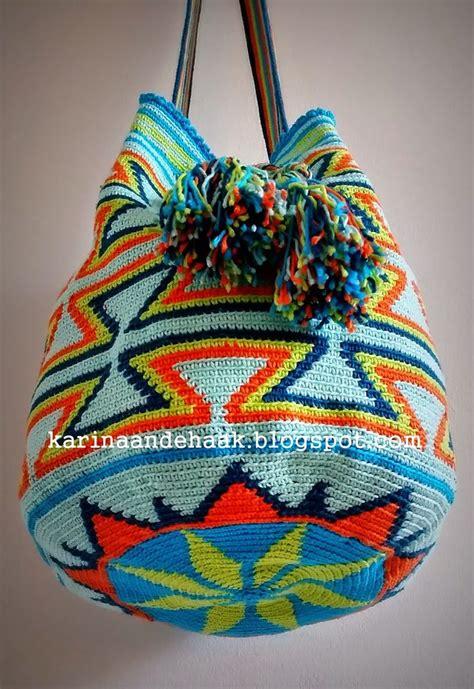 crochet hook bag pattern karin on the hook mochila bag bags pinterest bag