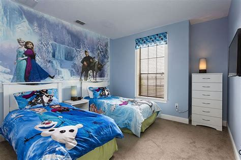 gambar wallpaper kamar frozen desain kamar tidur anak perempuan frozen desain tipe rumah