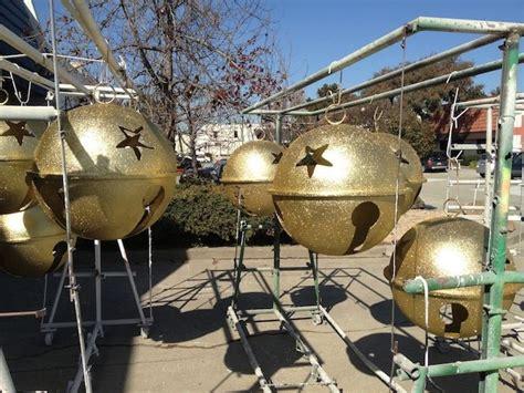 diy giant christmas bells barrango jingle bells