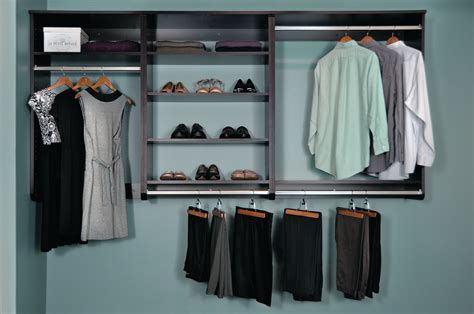 Half Closet by Woodtrac Closets Hanging Half Cabinets For Residential Pro