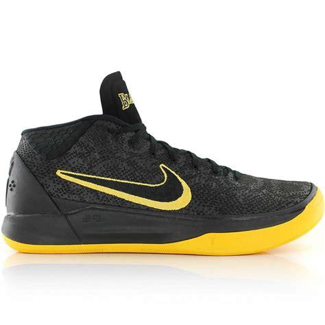 Sepatu Basket Nike Ad Mid Black White 1 nike a d 1 chrome basket4ballers