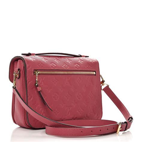 Tas Luis Vuitton Metis Empreinte Ros louis vuitton empreinte pochette metis bruyere 235653