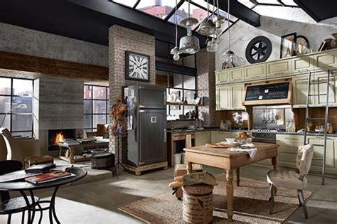 lade industriali vintage vintage keuken nolita marchi interieur inrichting