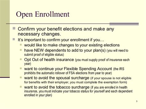 Open Enrollment Presentation 2014 Open Enrollment Memo Template
