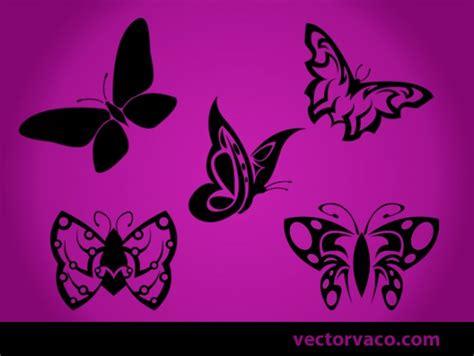 imagenes mariposas tribales siluetas hermosas mariposas tribales negros descargar