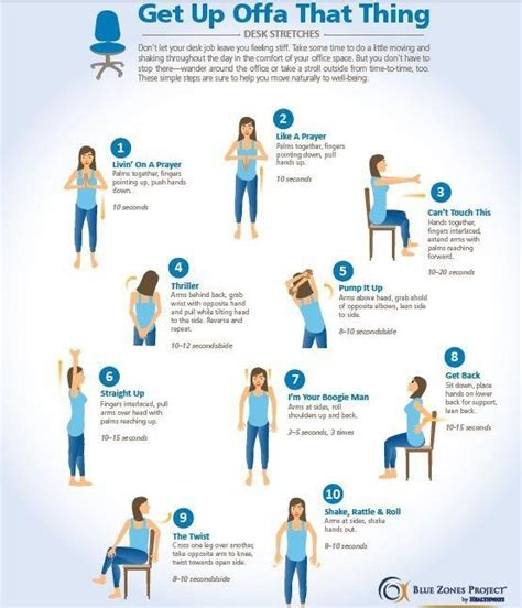 Exercises To Do At The Desk by Exercises When You A Desk Health Fitness