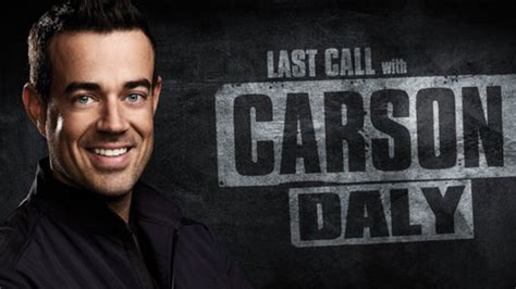 Nbcs Last Call With Carson Daly Plans To Defy Writers Strike And Resume Production last call with carson daly nbc