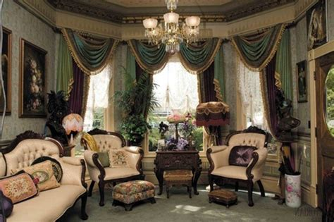 Small Country Kitchen Decorating Ideas by Victorian Living Room Curtain Ideas Victorian Style