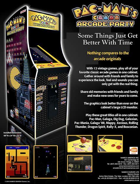 pac man arcade bandai namco amusement america arcade game pac man s