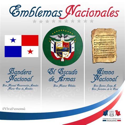 imagenes los simbolos patrios de panama patria es obedecer honrar y sostener la ley