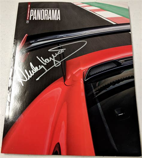 panorama porsche 2018 porsche panorama dec 2017 signed by haywood