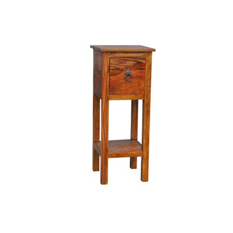 Sheesham Telephone Table With Drawer Bournemouth Poole